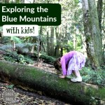 Exploring the Blue Mountains {with kids}
