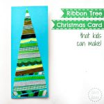 Ribbon Tree Christmas Cards