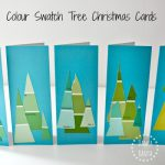 Paint Colour Swatch Tree Cards {that little kids can make}